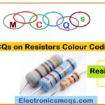 MCQs on Resistors Colour Coding