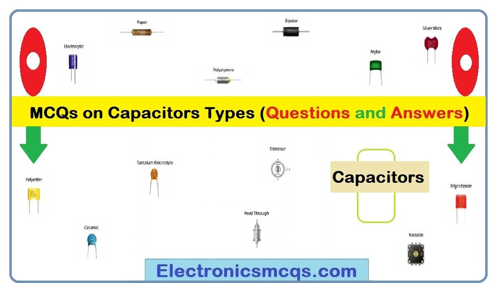 MCQs on Capacitors Types (Questions and Answers)