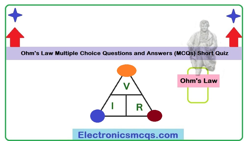 Ohm's Law Multiple Choice Questions and Answers (MCQs) Short Quiz