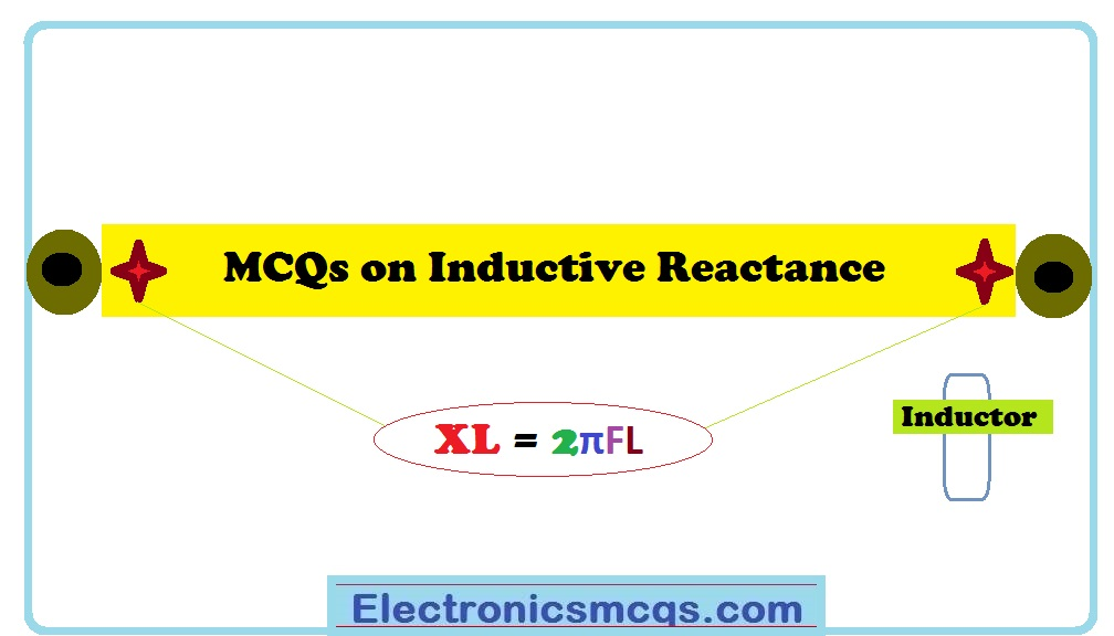 MCQs on Inductive Reactance Multiple Choice Questions