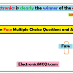 MCQs on Fuse Multiple Choice Questions and Answers