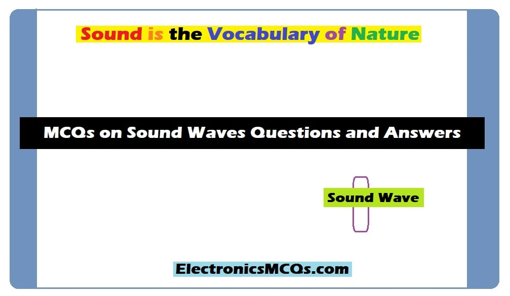 MCQs on Sound Waves Questions and Answers